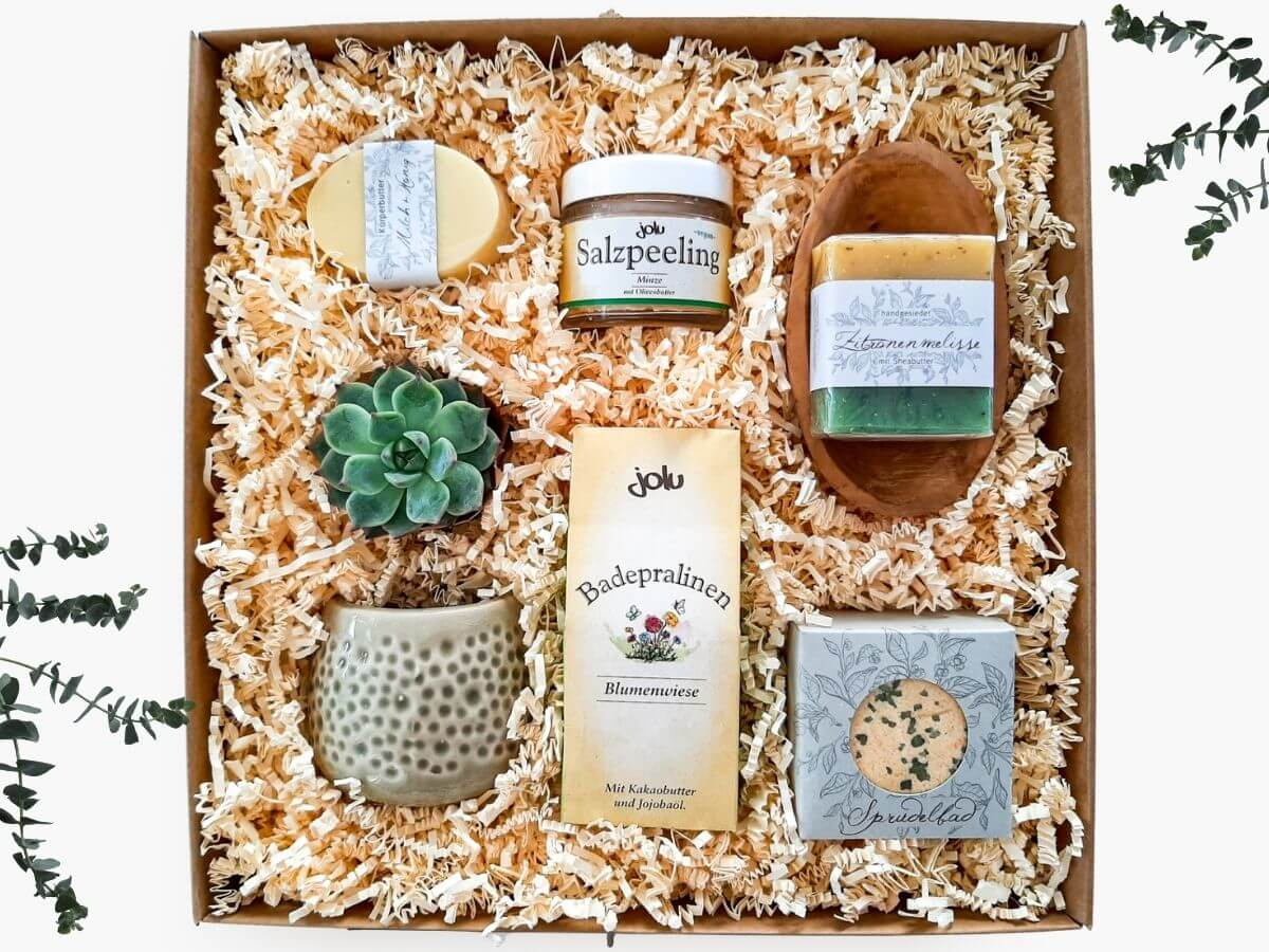 Beauty Geschenkbox Wohlfühlzeit