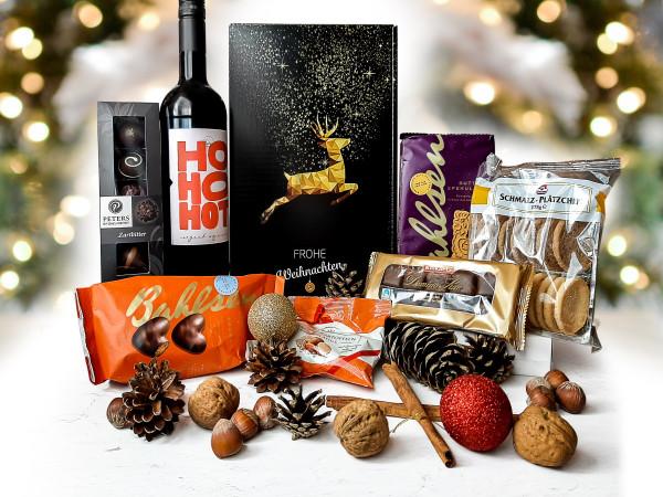 Weihnachtsfreuden - Weihnachtlicher Präsentkorb