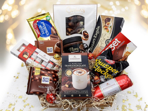 "Schokolade Geschenkkorb ""Schokolade pur"""