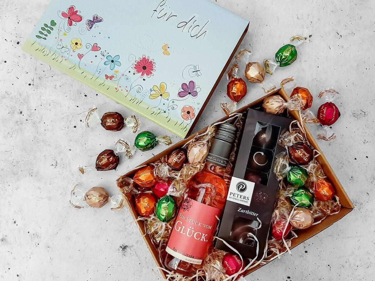 """Geschenkorb Freundin """"Pink Love"""""""
