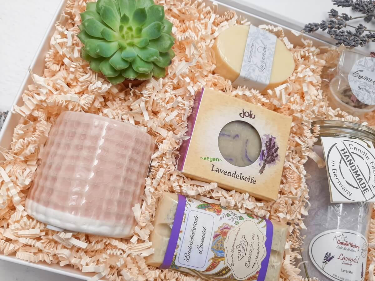 Geschenkbox Wellness