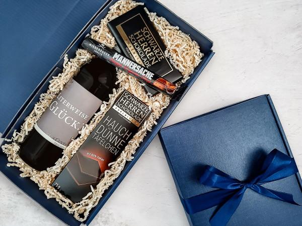 Glücksbox - Geschenkbox Mann